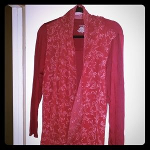 Burgundy Blouse from Investments